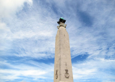Plymouth-Naval-Memorial-Sky