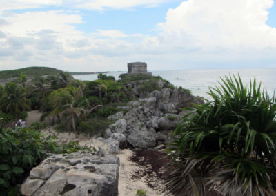 Tulum Ruins and the Caribbean sea, Quintana Roo Mexico photo for the Richard W Luscombe Photography Portfolio
