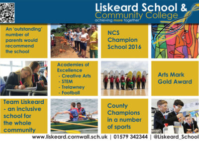 Liskeard-School-Sunday-Independent-Half-Page-Advert