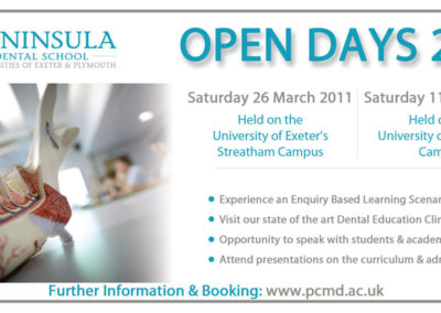 Peninsula-Dental-Open-Day-Advert